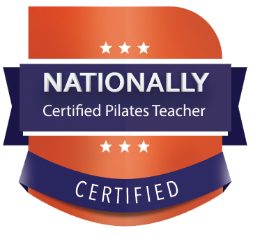 nationally certified pilates teacher badge